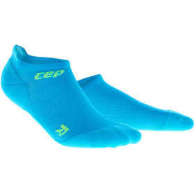 cep Dynamic+ Ultralight Calcetines No Show Hombre, electric blue/green